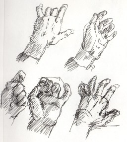 Pen, Hand Study