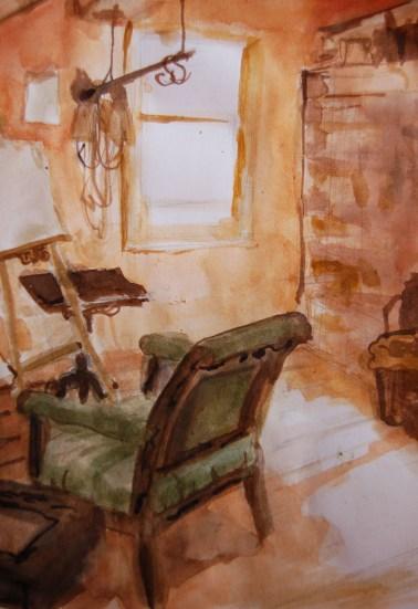 Ink, Studio Study