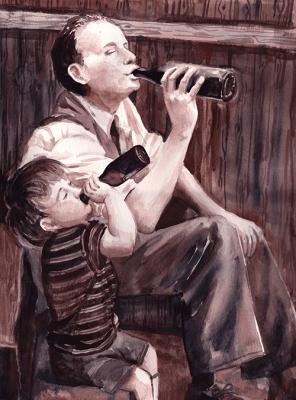 "Watercolour, 12x16"" Photo Commission"