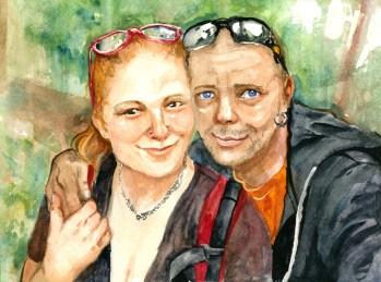 """8x10"""" Ink, Portrait Commission"""