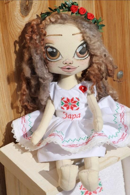 Кукла с шевици