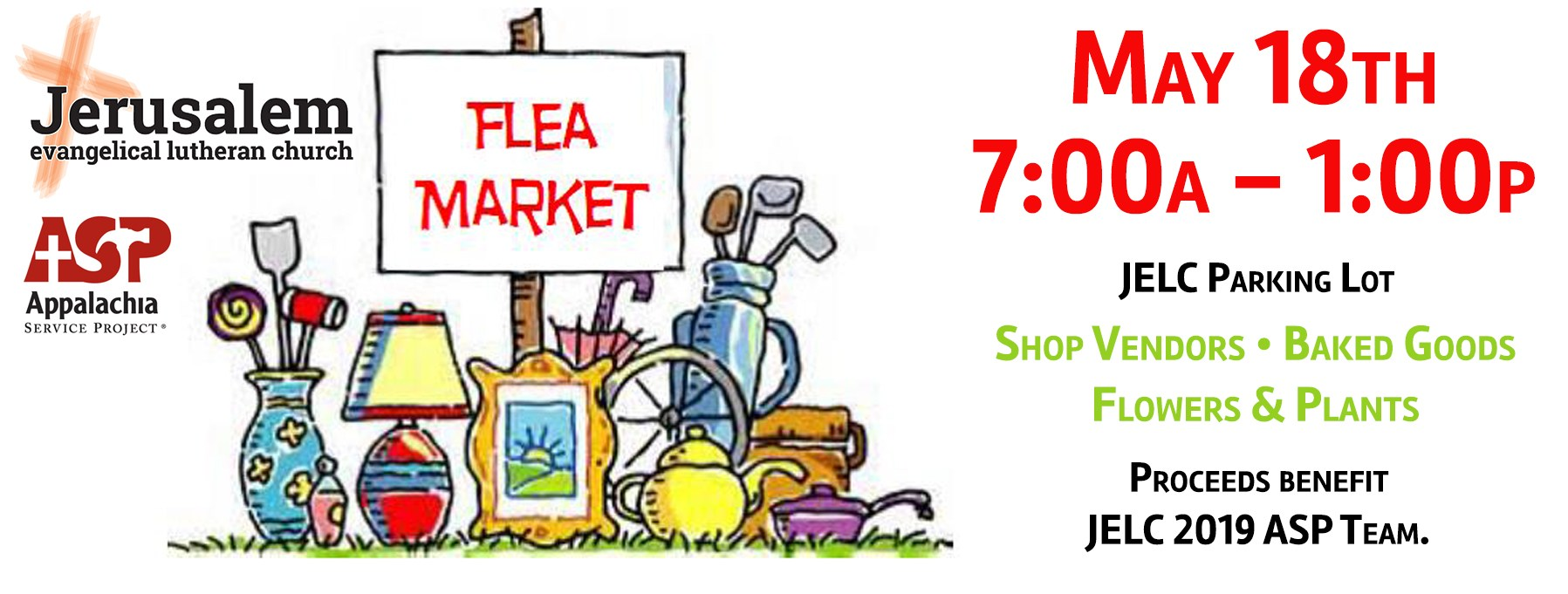 ASP Flea Market & Bake Sale
