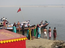 At the River Ganges