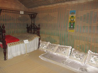 Inside a traditional house