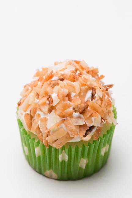 coconut mini cupcake