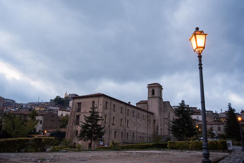 dusk-Calabrian-village-photograph