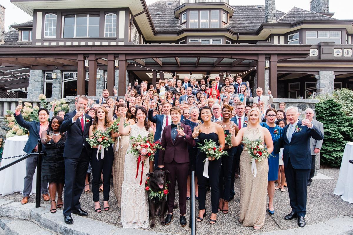 wedding day family photos