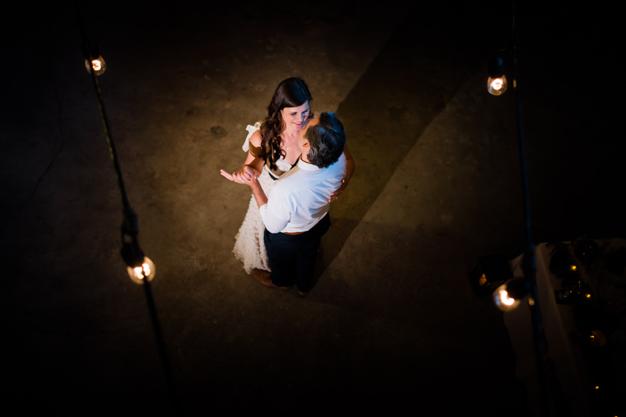 first dance at rustic barn wedding in Mission, BC