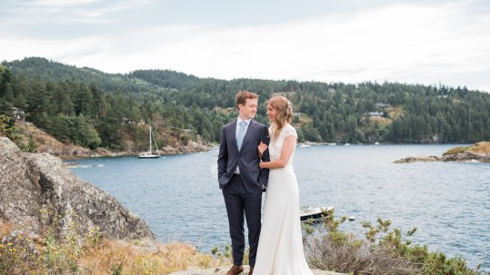 Bowen Island wedding