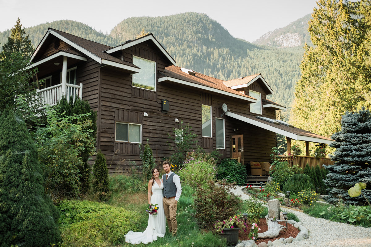 Eagle Valley Retreat wedding in Squamish
