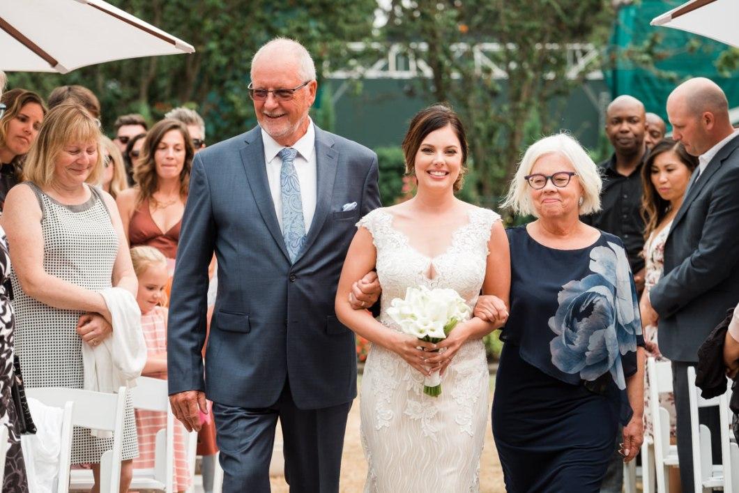 Stanley Park Pavilion wedding aisle