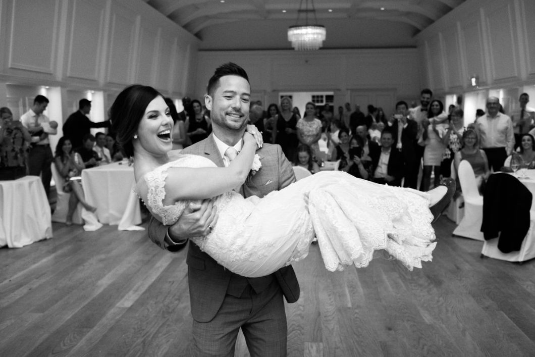 Stanley Park Pavilion wedding first dance