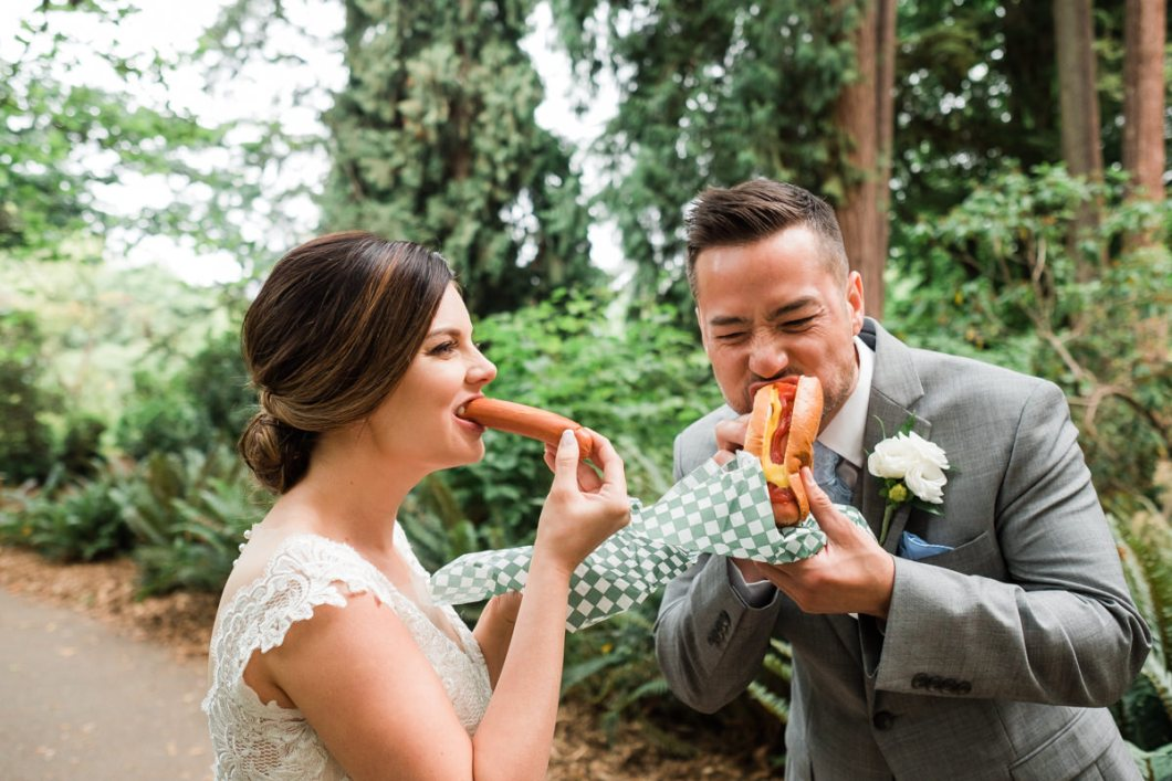 Stanley Park Pavilion wedding snacks