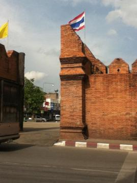 The Old wall Chang Mai, Thailand, used courtesy of Melanie Lillie