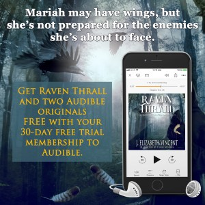 Raven Thrall Audible audio book