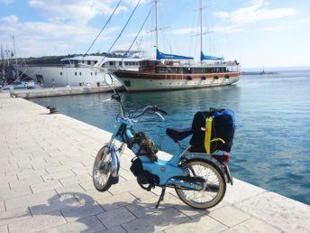 Hafen in Makarska Hafen