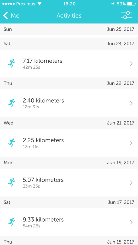 Runkeeper Stats for Mont Blanc