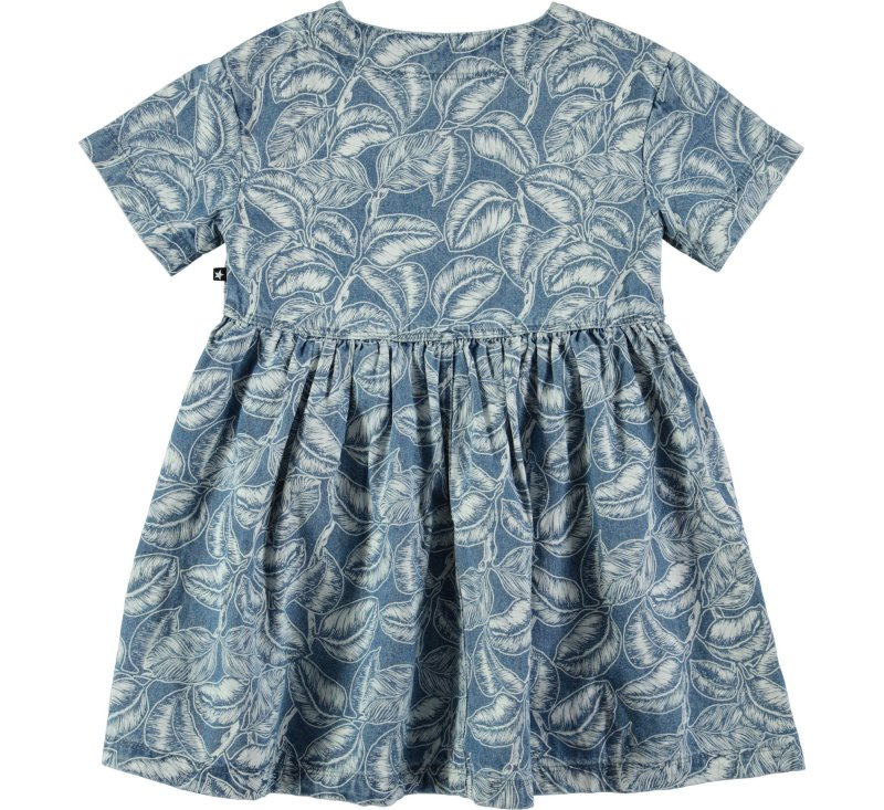 Chaka - Rubberleafs-DRESS-MOLO-98/104-3/4 YRS-jellyfishkids.com.cy