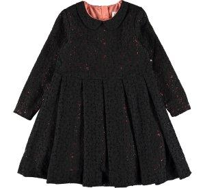 Cici Black lace dress-DRESS-MOLO-122/128 - 7-8 YRS-jellyfishkids.com.cy