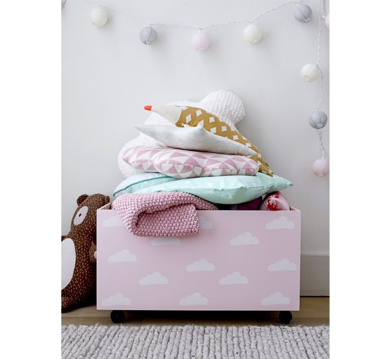 Cloud Cushion, White,-Cushion-Bloomingville-jellyfishkids.com.cy
