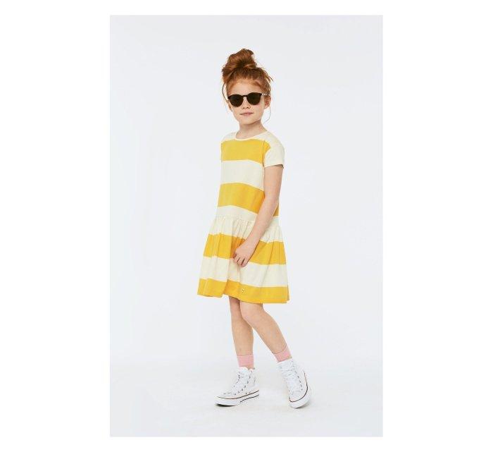 Cressida sunrise stripe Dress-DRESS-Molo-98/104-3/4 yrs-jellyfishkids.com.cy