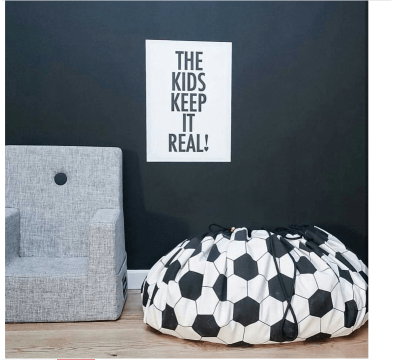 Football - Toy Storage Bag-Storage Bag-Play&Go-jellyfishkids.com.cy