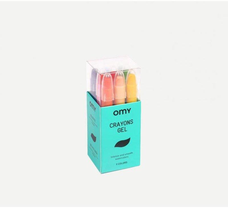 Gel Crayons-Gel Crayons-OMY-jellyfishkids.com.cy