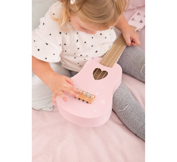 Guitar - pink-Musical Instrument-Little Dutch-jellyfishkids.com.cy