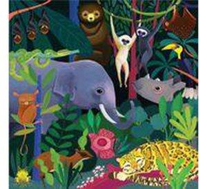 Jungle - Illuminated Glow In The Dark Family Puzzle-Puzzle-MUDPUPPY-jellyfishkids.com.cy