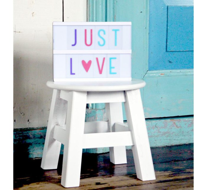 Lightbox letter set - pastel-Light-A Little Lovely Company-jellyfishkids.com.cy