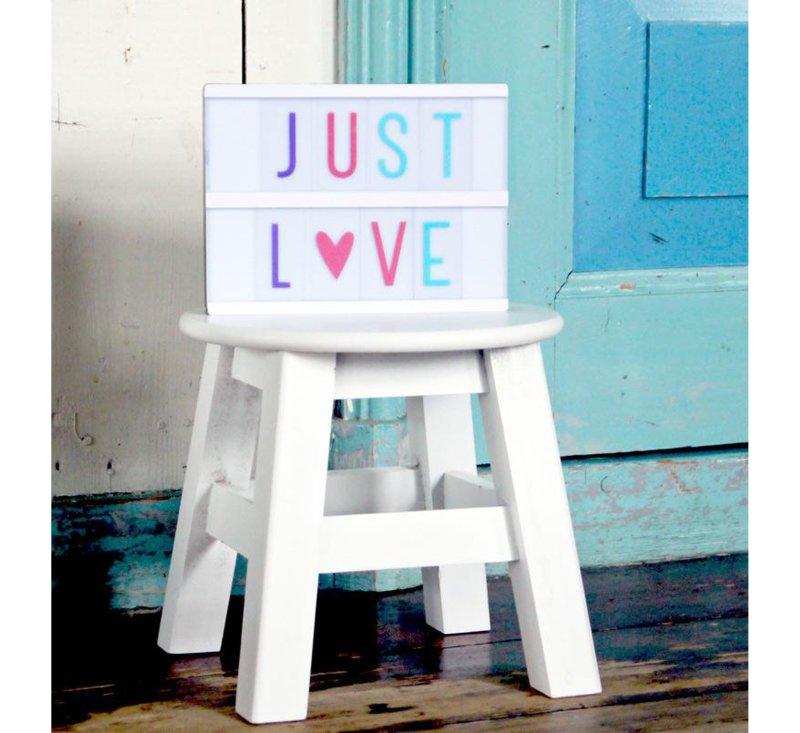 Lightbox letter set - pastel-Light-A Little Lovely Company-jellyfishkids.com.cy