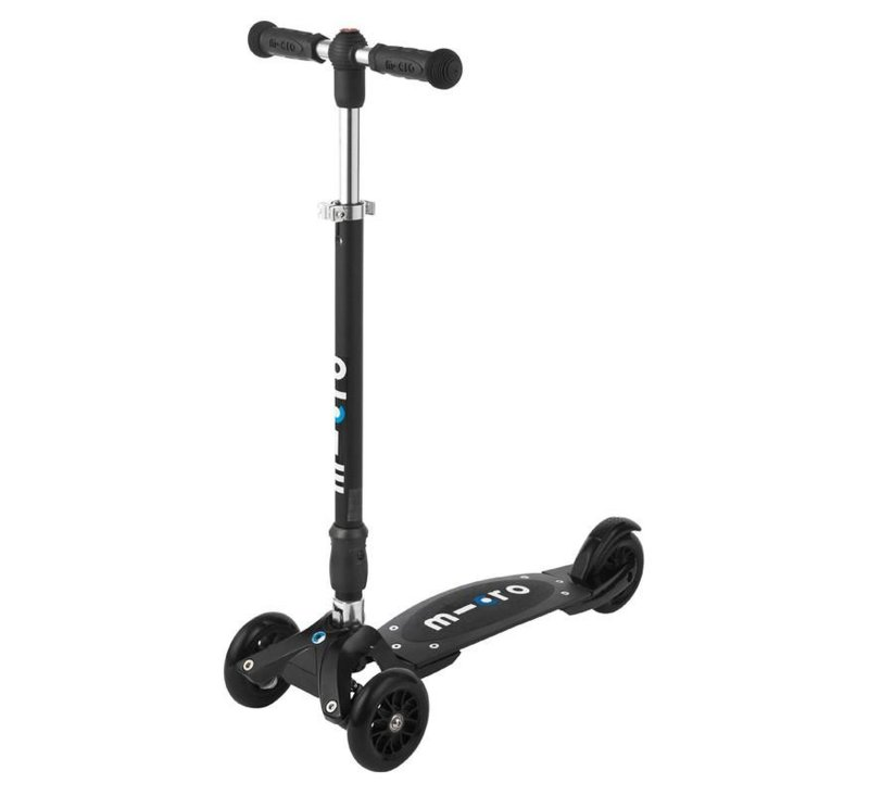 Micro Compact T Black with Interchangeable T-Bar-Micro Scooter-Micro Scooter-jellyfishkids.com.cy