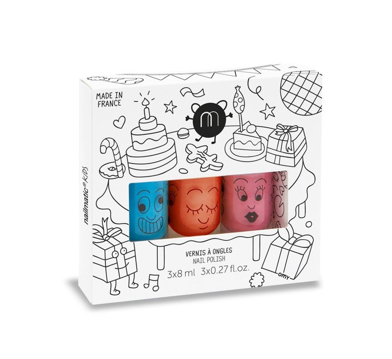 Nailmatic PARTY set of 3-Nailpolish-Nailmatic-jellyfishkids.com.cy
