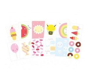 Postcard set - Cute Kawaii-POSTCARDS-A Little Lovely Company-jellyfishkids.com.cy