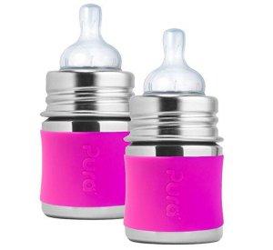 Pura Kiki 150ml stainless steel bottle-BOTTLES-PURA KIKI-jellyfishkids.com.cy