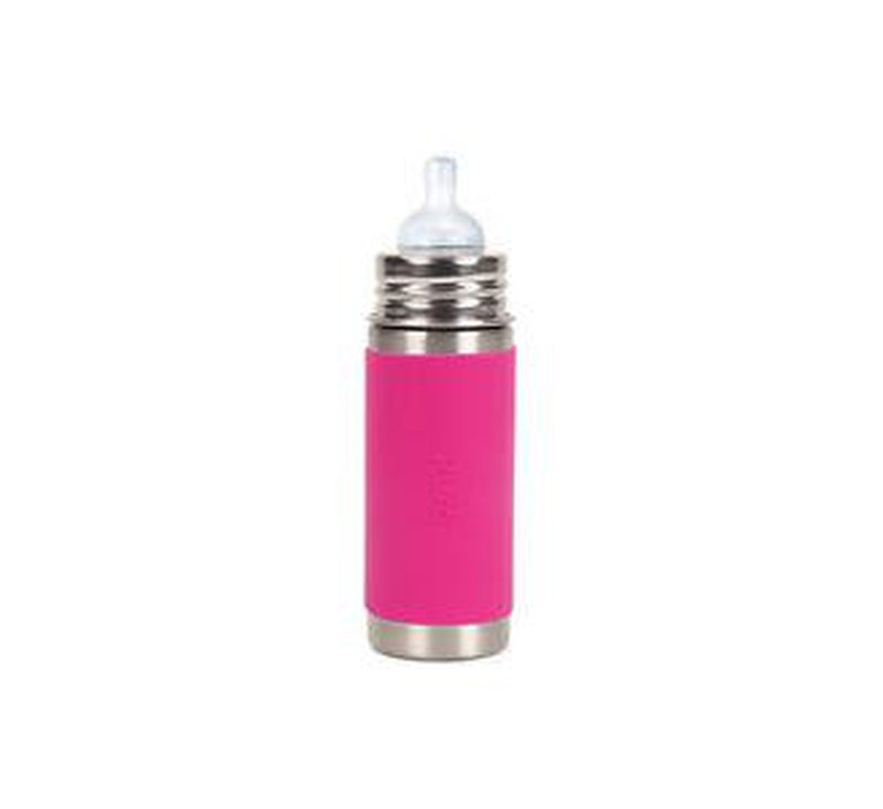 Pura Kiki Stainless steel Bottle 325ml-BOTTLES-PURA KIKI-jellyfishkids.com.cy