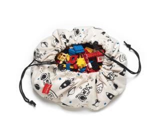 Space - Toy Storage Bag (mini)-Storage Bag-Play&Go-jellyfishkids.com.cy