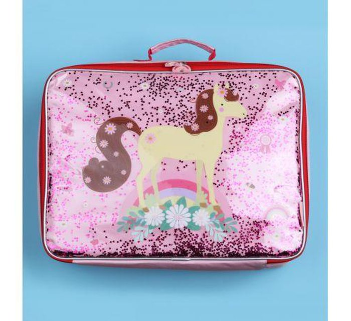 Suitcase Glitter - Horse-Storage Bag-A Little Lovely Company-jellyfishkids.com.cy