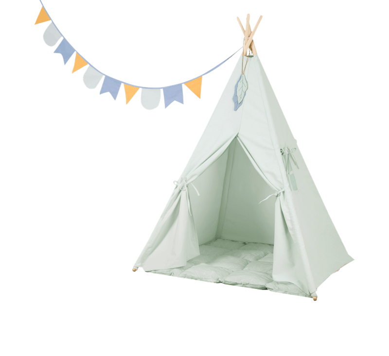 Teepee Tent - Mint-Teepee-Little Dutch-jellyfishkids.com.cy