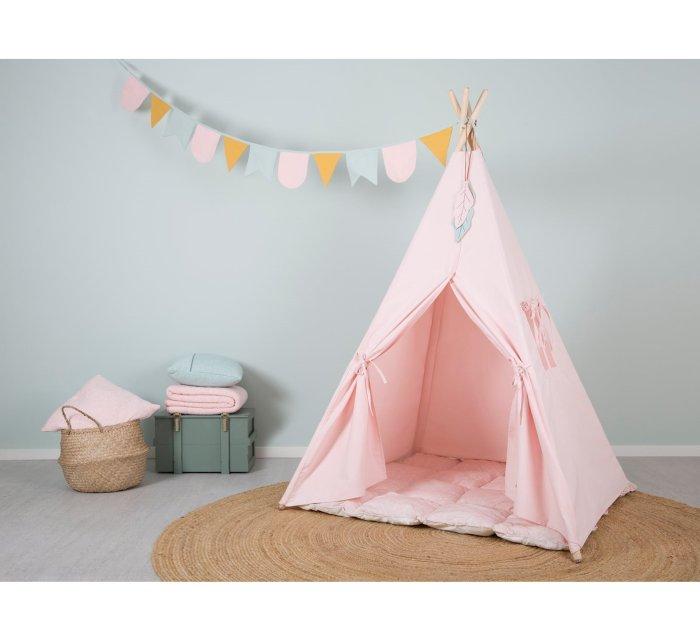 Teepee Tent - Pink-Teepee-Little Dutch-jellyfishkids.com.cy