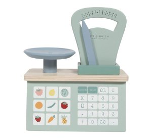 Toy Weighing Scales-Wooden Toys-Little Dutch-jellyfishkids.com.cy