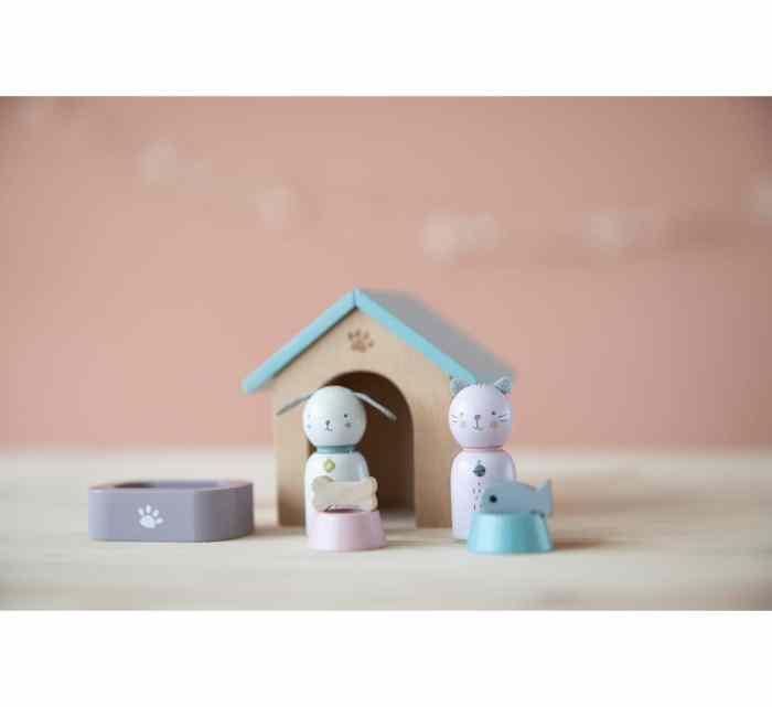 Wooden Pet Set-Wooden Toys-Little Dutch-jellyfishkids.com.cy