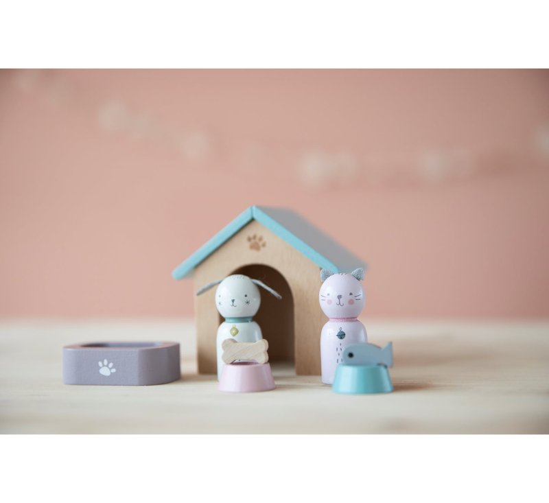 Wooden Pet Set-Wooden Toys-Little Dutch-jellyfishkids.com.cy