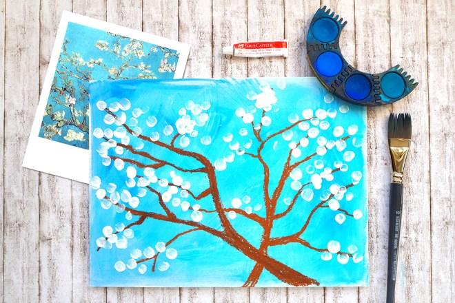 Titel Malen mit Kindern Frühling