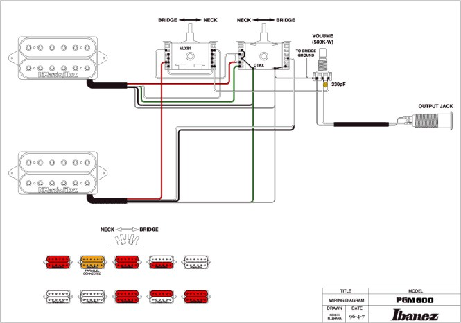 ibanez wiring diagrams 5 way switch wiring diagram ibanez hss wiring diagram image