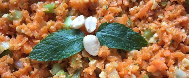 Salade croquante aux saveurs asiatiques