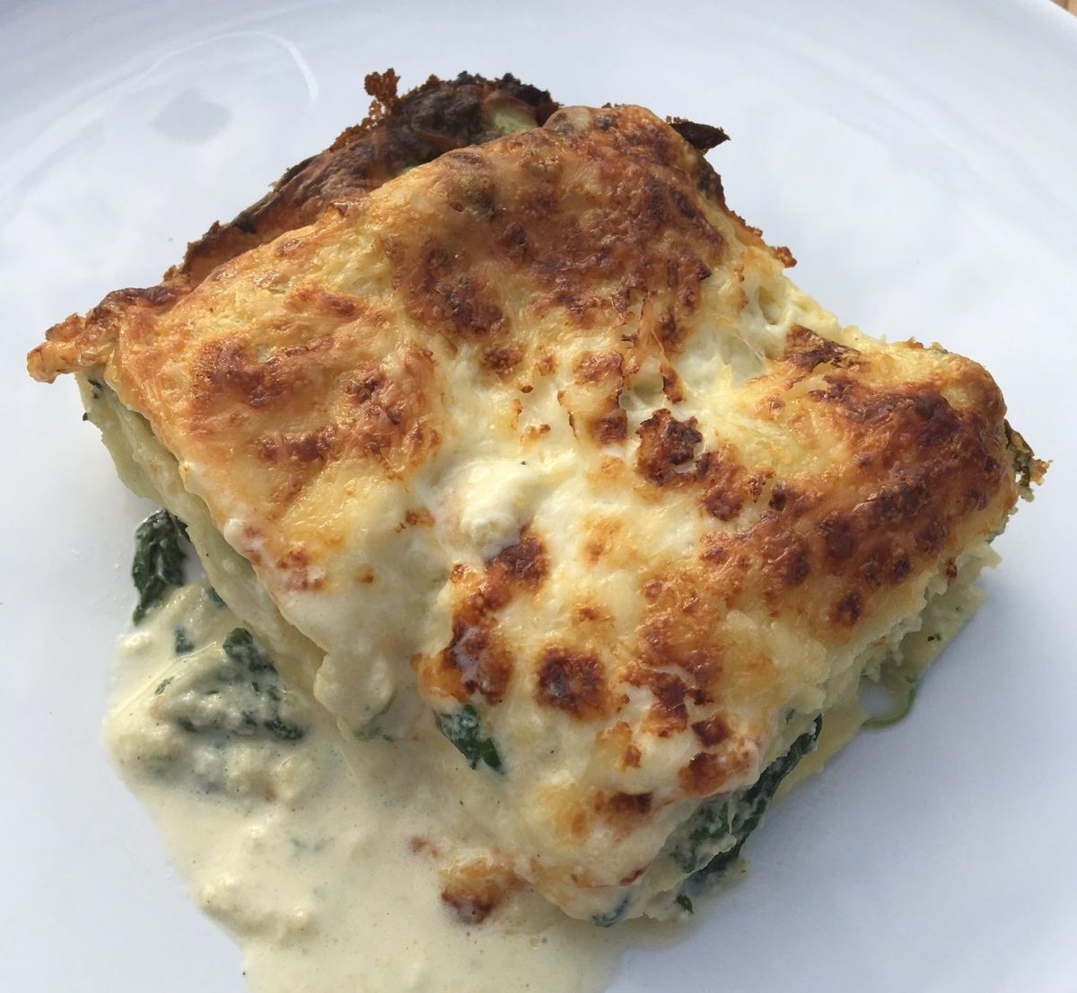 Lasagne express épinards et ricotta