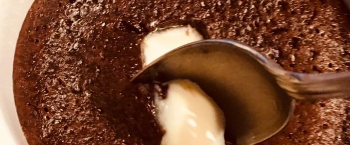 Mi-cuit chocolat au coeur fondant