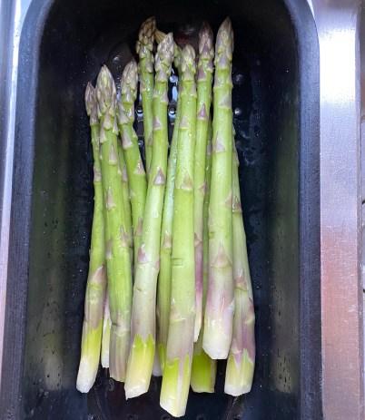 Pâtes aux asperges vertes Thermomix