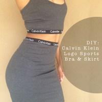 DIY: Calvin Klein Logo Women's Underwear